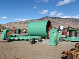 Dominion 11 ft. x 14.5 ft. Ball Mill