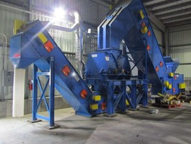 Williams Glass & Slag Recycling System Model 330 kW Williams Impact Crusher