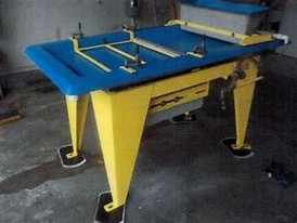 Action Mining M7 Wave Concentrating Tables