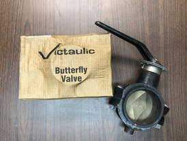 "4"" Victaulic Butterfly Valves"