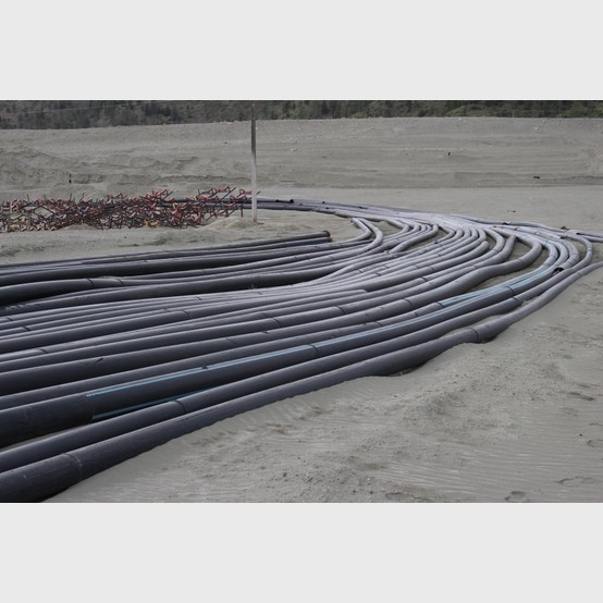 Savona Equipment Sells Good Used 12 Inch Sclair Poly Pipe