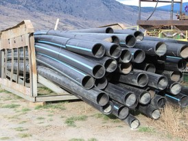 HDPE Sclairpipe 10 inch Poly Pipe