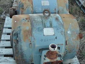 General Electric 100 HP Electric Motor