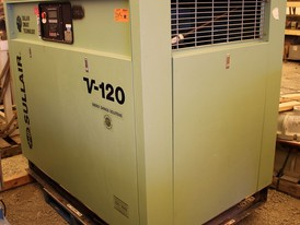 Sullair 224 CFM Rotary Screw Air Compressor