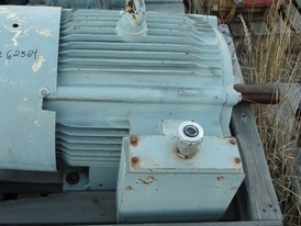 Mather & Platt 75 HP Electric Motor
