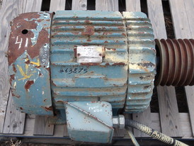General Electric 50 HP Electric Motor