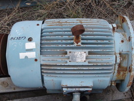 Westinghouse 50 HP Electric Motor