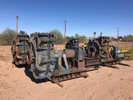 Warman 14x12AH Slurry Pumps