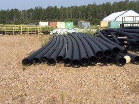 HDPE 14.875 in. Poly Pipe