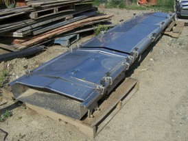 Triple S Dynamics 30 in. x 25 ft. Slipstick Conveyor
