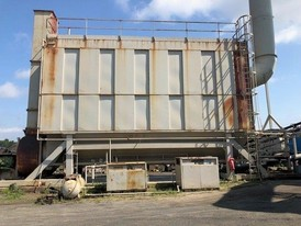 Standard Haven/Cedar Rapids Jet Pulse Baghouse 74,000 CFM Dust Collector