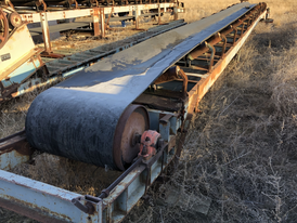 30in. Wide x 51ft. Long Channel Conveyor