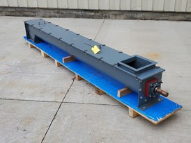 9 in. Dia. x 10 ft. Long Screw Auger Conveyor