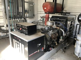 50 HP Variable Volts Natural Gas Generator