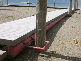 Custom Manufactured Wharfs and Docks