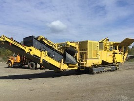 Keestrack R5 Destroyer 1112-S Tracked Mobile Impact Crusher Plant