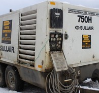 Sullair 750 CFM Portable Air Compressor