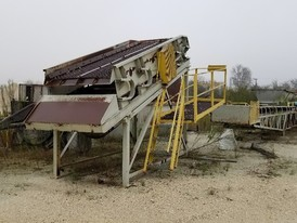5 ft. x 14 ft. Single Deck Incline Screen