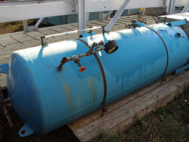 Vertical Pressure Vessel 3 ft. x 9 ft.