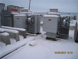Cooper Industries 1500 KVA Transformers
