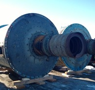 Allis Chalmers 9 ft. dia. x 12 ft. long Ball Mills
