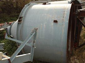 Steel 10 ft. x 12 ft Cone Bottom Tank