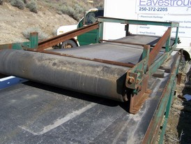 Flat Channel Conveyor 4 ft. x 30 ft. Long