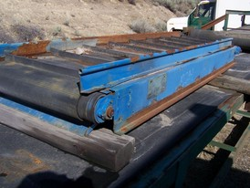 Recycling Conveyor 24 in. x 9 ft.