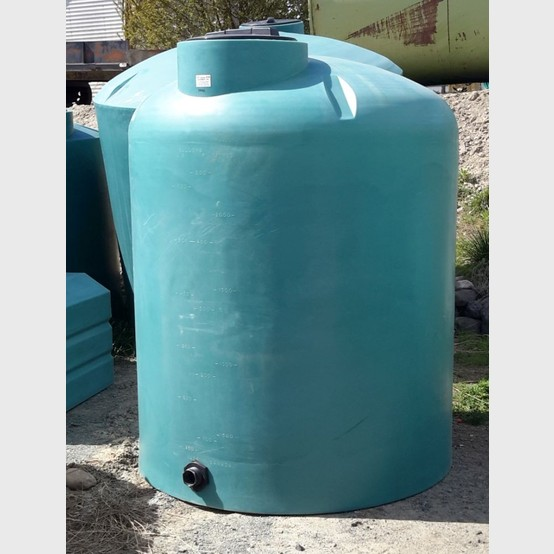 New vertical polyethylene tank supplier | New 2000 gallon