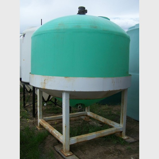 Conical Poly Tank Supplier Worldwide Used 1500 Gallon