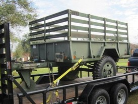 Military 6.5 ft. x 9 ft. Utility Trailer