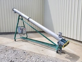 9 in. x 18 ft. Tubular Incline Screw Conveyor