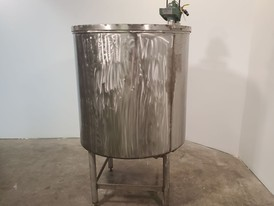 220 Gallon Stainless Steel Vertical Mix Tank