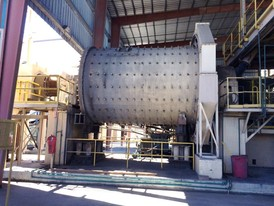 KVS 11.5 ft. x 17 ft. Ball Mill