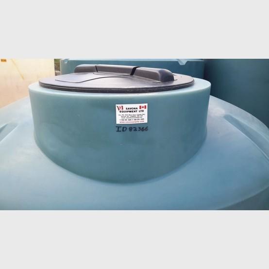 New vertical polyethylene tank supplier | New 400 gallon