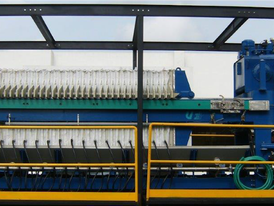 1200-45-40mm-50 Containerized Mobile Filter Press System