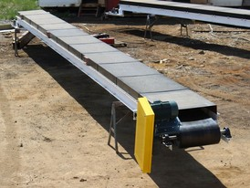 New 24 in. x 50 ft. Channel Conveyors