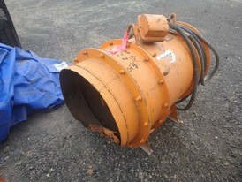 Joy 24 in. Diameter Mine Ventilation Fan