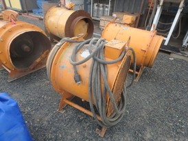 Woods-Aerofoil 24 in. Diameter Mine Ventilation Fan