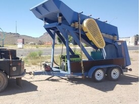Turn Key Yuba Industries 30 TPH Portable Gold Wash and Recovery Plant with Knelson Concentrator