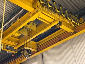 Norelco 5 Ton Capacity Double Girder Overhead Bridge Crane