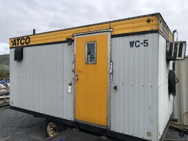 8 ft. x 16 ft. Site Washroom Container