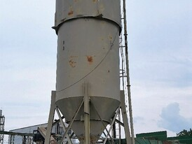 Stationary 350 BBL Dust Silo