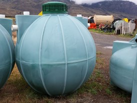 Poly RKS-600 Gallon Septic Tanks