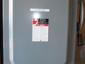 Federal Pioneer 200 amp Fusible Disconnect