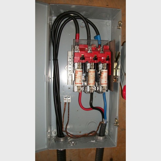 Cutler Hammer   Fusible Disconnect For Sale on 480v 3 phase wiring diagram