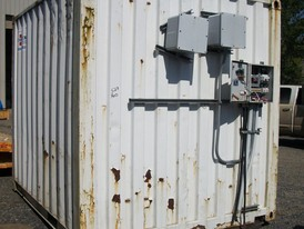 10 ft. Electrical Container