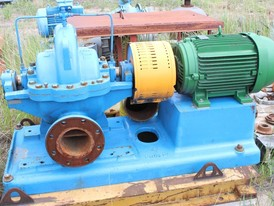 Goulds 6 x 8 x 11 Horizontal Split Case Pump
