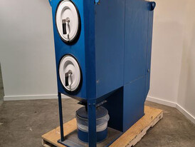 1300 CFM Downflo Oval Dust Collector