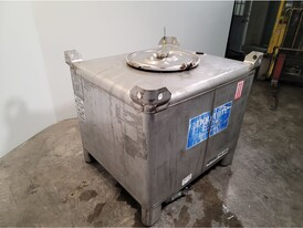 300 Gallon Stainless Steel Intermediate Bulk Container